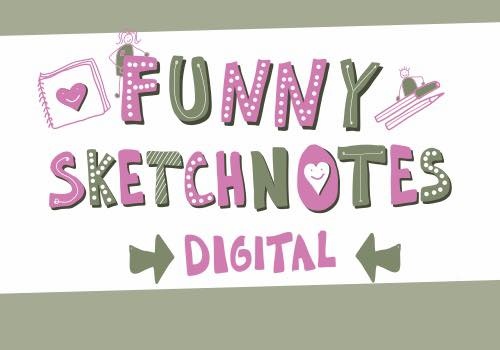Funny Sketchnotes - Digital - Online-Kurs